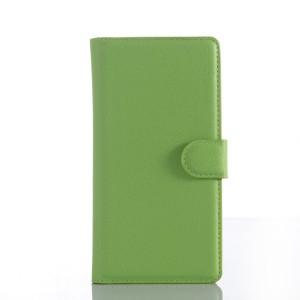 Чехол портмоне подставка на силиконовой основе с защелкой для Sony Xperia Z5 Premium
