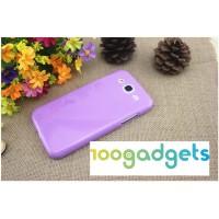 Силиконовый чехол для Samsung Galaxy Mega 5.8 GT-I9152 Фиолетовый