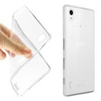 Силиконовый транспарентный чехол для Sony Xperia Z5 Premium