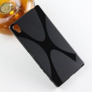 Силиконовый X чехол для Sony Xperia Z5 Premium