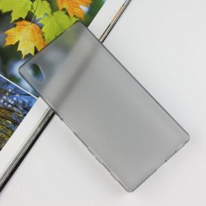 Силиконовый матовый чехол для Sony Xperia Z5 Premium