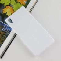 Силиконовый матовый чехол для Sony Xperia Z5 Premium Белый