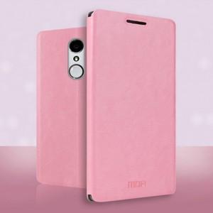 Чехол флип подставка водоотталкивающий для ZTE Blade X5 Розовый