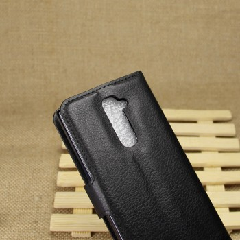 Чехол портмоне подставка для LG Optimus G2 Черный