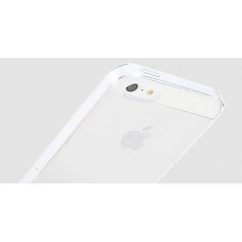 Пластиковый транспарентный чехол для Iphone 5/5s/SE