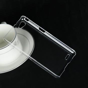 Пластиковый транспарентный чехол для Philips W6610 Xenium