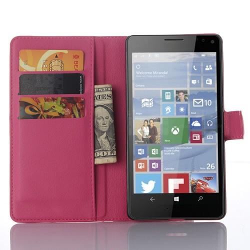 Чехол портмоне подставка с защелкой для Microsoft Lumia 950 XL