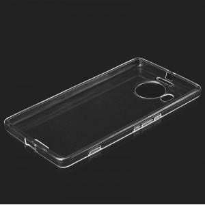 Силиконовый транспарентный чехол для Microsoft Lumia 950 XL