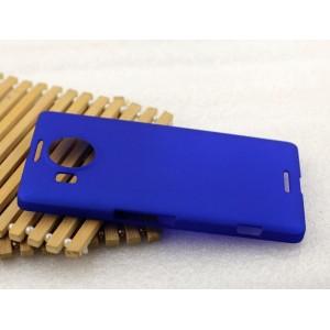 Пластиковый матовый металлик чехол для Microsoft Lumia 950 XL