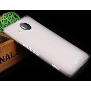 Силиконовый матовый полупрозрачный чехол для Microsoft Lumia 950 XL