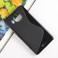 Силиконовый S чехол для Microsoft Lumia 950 XL Черный