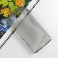 Силиконовый S чехол для Microsoft Lumia 950 XL Серый