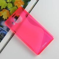 Силиконовый S чехол для Microsoft Lumia 950 XL Розовый