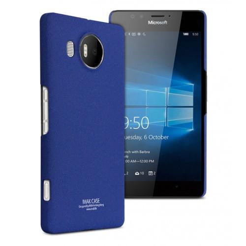 Пластиковый матовый чехол с повышенной шероховатостью для Microsoft Lumia 950 XL