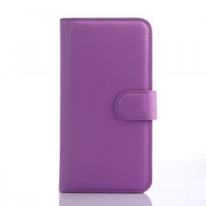 Чехол портмоне подставка с защелкой для ASUS Zenfone C Фиолетовый