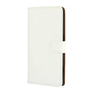 Чехол портмоне подставка с защелкой для Microsoft Lumia 950 XL Белый