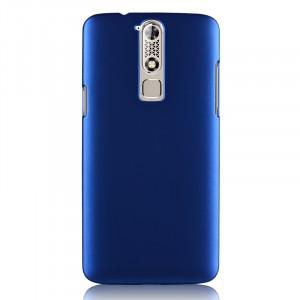 Пластиковый матовый металлик чехол для ZTE Axon Mini Синий