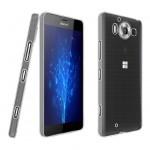 Силиконовый транспарентный чехол для Microsoft Lumia 950