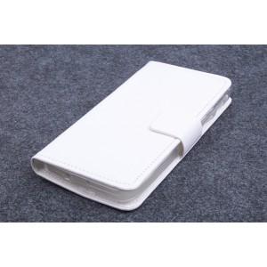 Чехол портмоне подставка на силиконовой основе для ASUS Zenfone C (ZC451CG) Белый