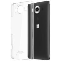 Пластиковый транспарентный чехол для Microsoft Lumia 950