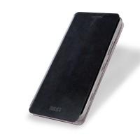 Чехол флип подставка водоотталкивающий для Microsoft Lumia 950 Черный