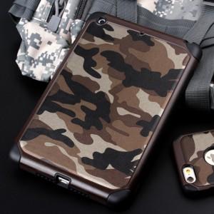 Двухкомпонентный чехол с силиконовой подложкой и поликарбонатной накладкой Камуфляж для Ipad Mini 4