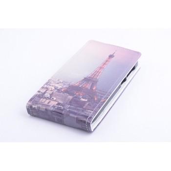 Чехол вертикальная книжка на силиконовой основе с магнитной застежкой с полноповерхностным принтом для Alcatel One Touch Pop 2 (4.5)