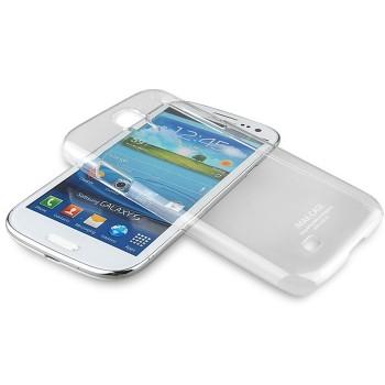 Пластиковый транспарентный чехол для Samsung Galaxy S4