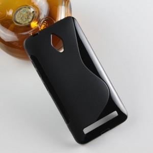 Силиконовый S чехол для ASUS Zenfone Go Черный