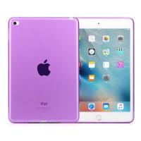 Силиконовый матовый полупрозрачный чехол для Ipad Mini 4 Фиолетовый
