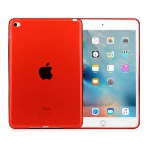 Силиконовый матовый полупрозрачный чехол для Ipad Mini 4 Красный