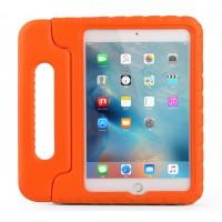 Противоударный детский силиконовый чехол с ручкой для планшета Ipad 2/3/4 Оранжевый