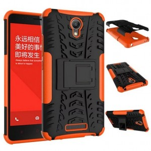 Антиударный гибридный чехол экстрим защита силикон/поликарбонат для Xiaomi RedMi Note 2