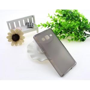 Силиконовый матовый полупрозрачный чехол для Samsung Z3