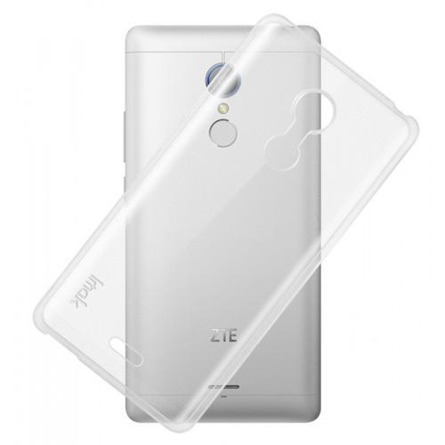 Силиконовый транспарентный чехол для ZTE Blade X9