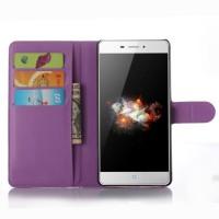 Чехол портмоне подставка с защелкой для ZTE Blade X9 Фиолетовый