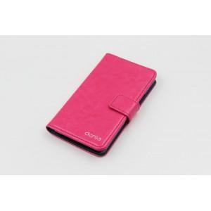 Чехол портмоне подставка на силиконовой основе с защелкой для Samsung Z3