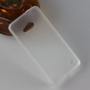 Силиконовый транспарентный чехол для Microsoft Lumia 550
