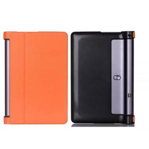Чехол подставка на поликарбонатной основе для Lenovo Yoga Tab 3 10 Оранжевый