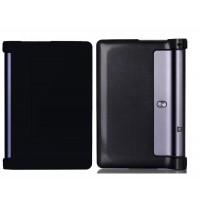 Чехол подставка на поликарбонатной основе для Lenovo Yoga Tab 3 10 Черный