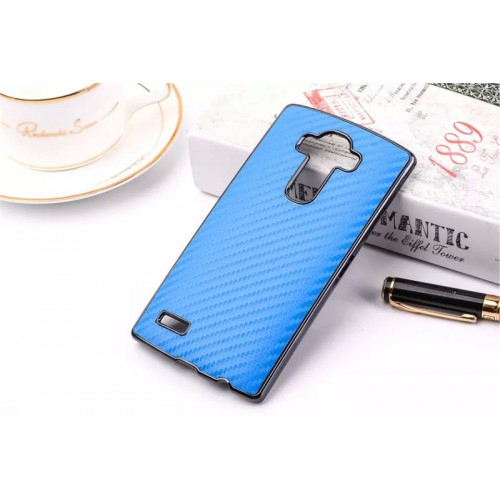 Дизайнерский поликарбонатный чехол текстура Карбон для LG G4 S