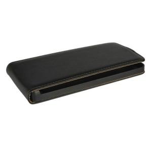 Чехол вертикальная книжка на пластиковой основе с магнитной застежкой для LG G4 S Черный