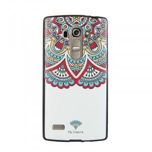 Силиконовый дизайнерский чехол с принтом для LG G4 S