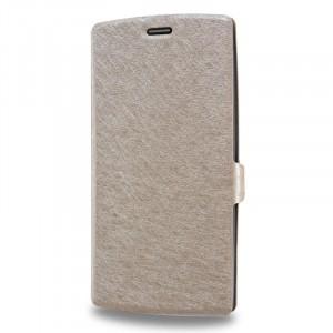 Текстурный чехол флип подставка на пластиковой основе для LG G4 S