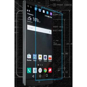 Ультратонкое износоустойчивое сколостойкое олеофобное защитное стекло-пленка для LG V10