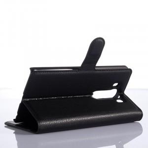 Чехол портмоне подставка с защелкой для LG V10 Черный