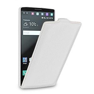 Кожаный чехол вертикальная книжка (нат. кожа) для LG V10