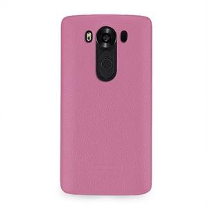 Кожаный чехол накладка (нат. кожа) для LG V10
