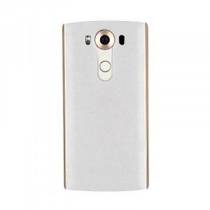 Встраиваемая поликарбонатная крышка с кожаным покрытием, встроенным NFC и функцией беспроводной зарядки для LG V10