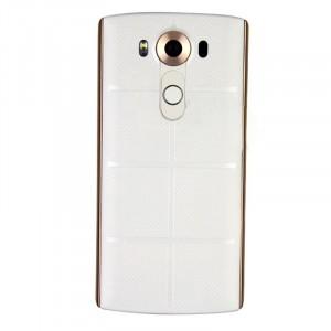 Встраиваемая поликарбонатная крышка с встроенным NFC и функцией беспроводной зарядки для LG V10 Белый